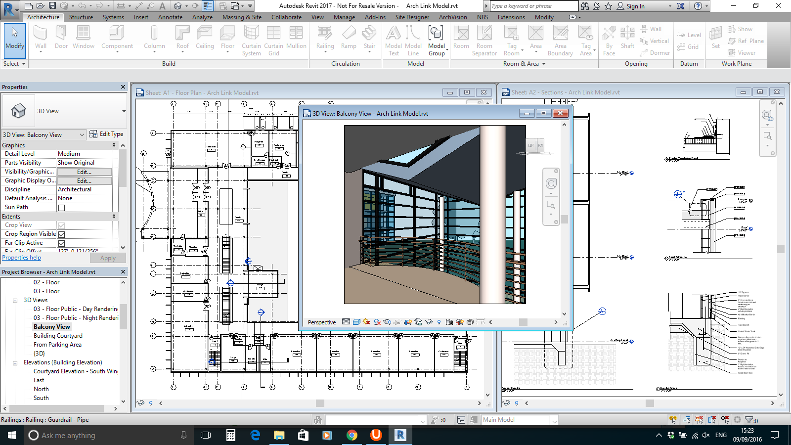 revit essentials for building design course west sussex revit architecture example